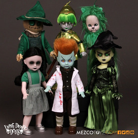 Living Dead Dolls The Lost Os Oz Set De 5