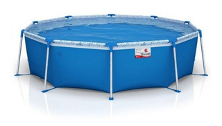 Pileta estructural Tiburoncito N°8 de 4500 litros redonda 3.05m de diámetro