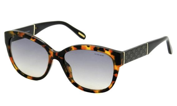 Óculos Victor Hugo Sh1715 Col.01 Fg 55 - Lente 55mm