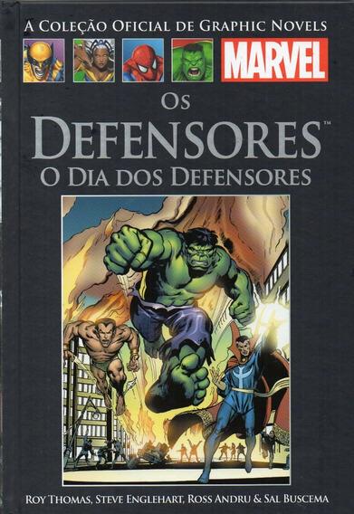 Salvat Graphic Marvel Dia Dos Defensores