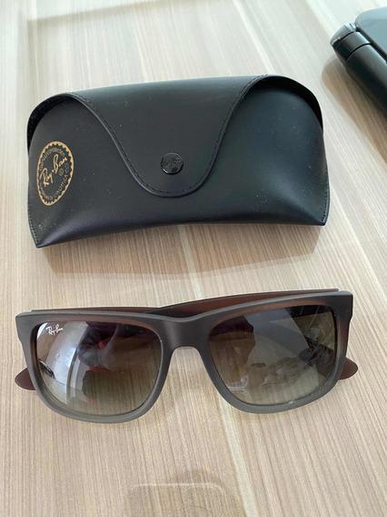 Óculos Rayban Wayfarer Cinza