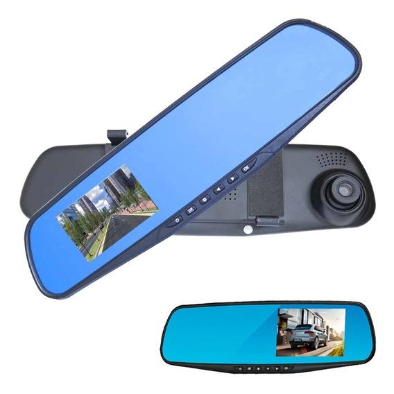 Espelho Retrovisor Com Câmera Frontal E Câmera Ré Full Hd