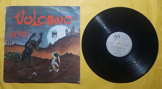 Vulcano - Live - 1985 - Lp.