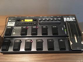 Pedaleira P/ Contra Baixo - Bass Pod Xt Live + Hard Case