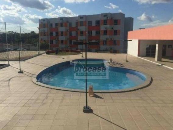 Apartamento Com 2 Dormitórios À Venda, 55 M² Por R$ 190.000,00 - Aleixo - Manaus/am - Ap2959