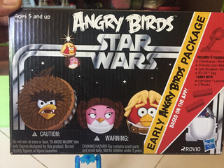 Angry Birds Star Wars Early Angry Birds Package 2012 Hasbro