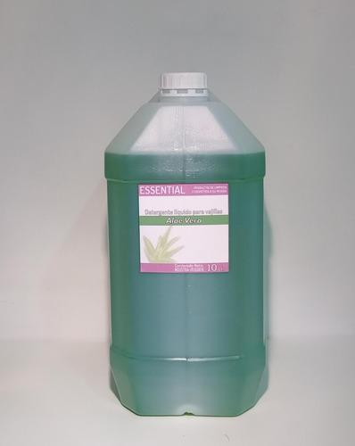 Detergente Aloe Vera Essential Desengrasante 10 Lt.