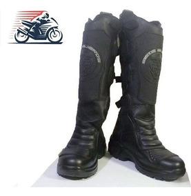 Botas Para Moto Supervisor. Total Protección Dedos Y Canilla