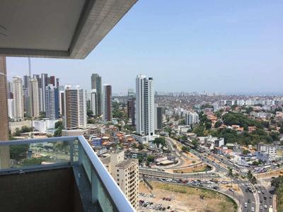 Apartamento Nunca Habitado, 3 Quartos, Suítes, 102,40m², Nascente - Rio Vermelho - Ap2046