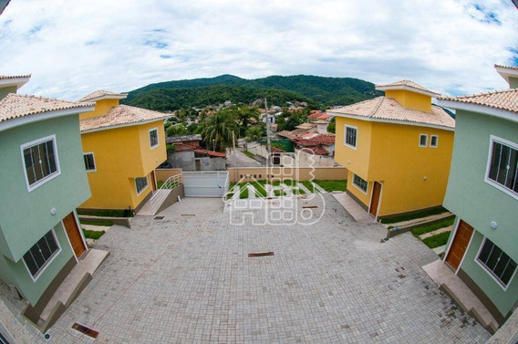 Casa Com 2 Dormitórios À Venda, 80 M² Por R$ 295.000,00 - Serra Grande - Niterói/rj - Ca0515
