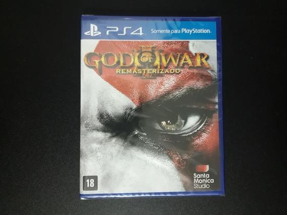 God Of War 3 Remasterizado Ps4 Lacrado