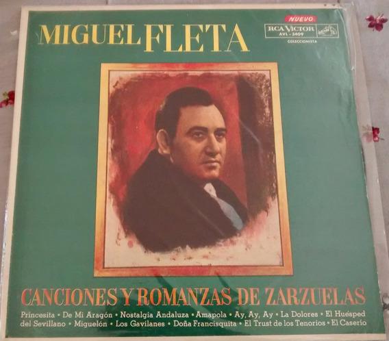 Disco De Vinilo -miguel Fleta