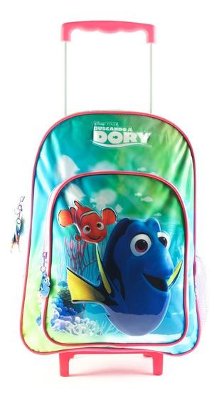 Mochila Carro Grande 16p Disney Buscando Dory Nemo Mundoteam