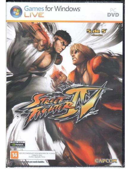 Jogo Street Fighter Iv Pc *novo*