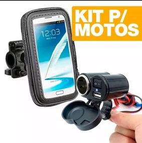 Kit Motoboy Com Tomada 12-24v