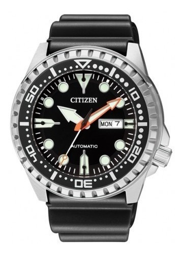 Relógio Automático De Mergulho Citizen Marina Sport