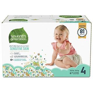 Pañales Para Bebes De Septima Generacion Para Pieles Sensib