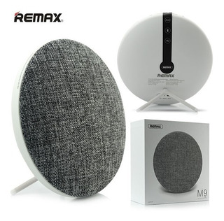 Parlante Bluetooth 4.1 Remax iPhone Android Gris Retro