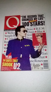 U2 Bono Antigua Revista Q Jjunio 1995 Inglaterra