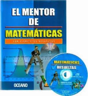 Libro El Mentor De Matematicas + Cd - Oceano