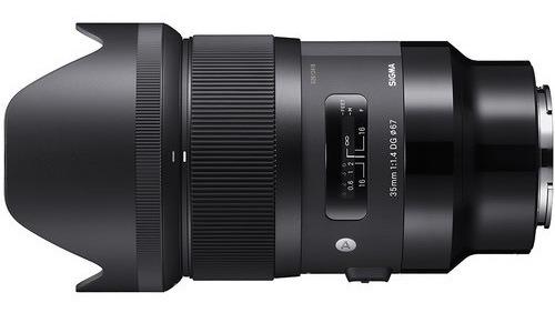 Lente Sigma 35 Mm 1.4 Art Para Sony E Mount