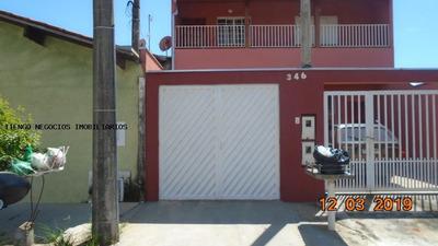 Casa Para Locação Em Limeira, Jardim Palmeiras, 3 Dormitórios, 2 Banheiros, 1 Vaga - 7748