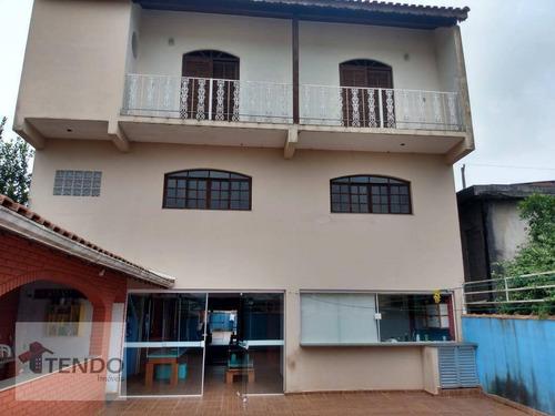 Imagem 1 de 29 de Sobrado Com 3 Dormitórios À Venda, 304 M² Por R$ 800.000 - Jardim Maria Paula - Rio Grande Da Serra/sp - So0619