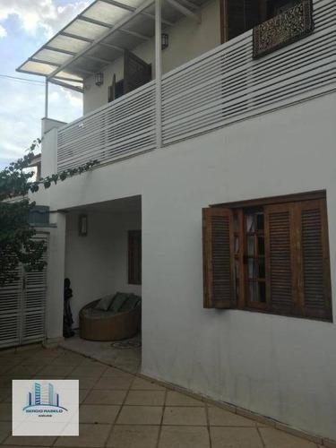 Imagem 1 de 30 de Sobrado Com 3 Dormitórios À Venda, 240 M² Por R$ 1.600.000,00 - Campo Belo - São Paulo/sp - So0163