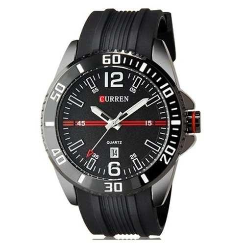 Relógio Curren Analógico Casual 8178 Preto Original
