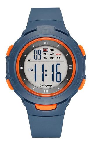 Imagen 1 de 4 de Relojes Para Niño Digital Slop Sw82176 Azul