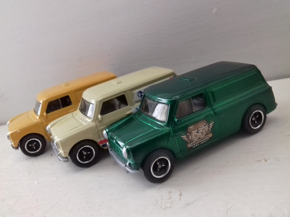 Lote 3 Miniaturas Matchbox 1965 Austin Mini Van - Loose