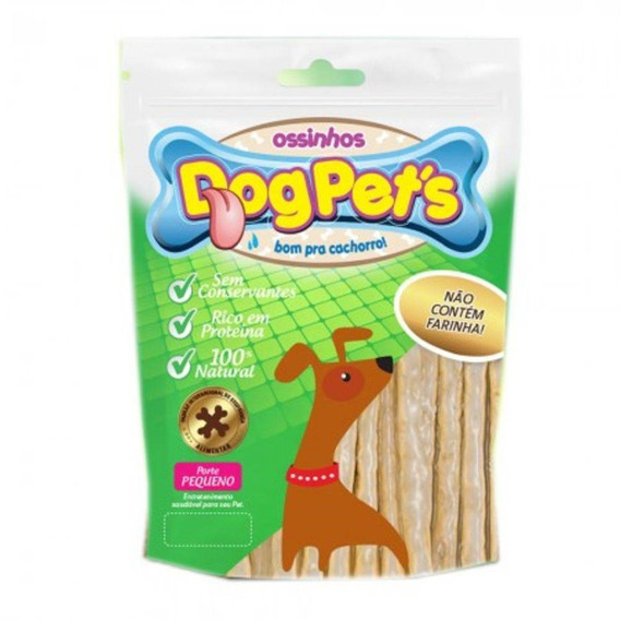 Petisco Dogpets Morder Cachorro Palito Natural Dogpets 500gr