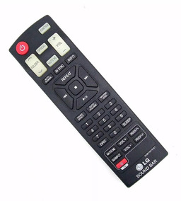 Controle Home Theater Sound Bar Audio Lg Akb73575422 Origina