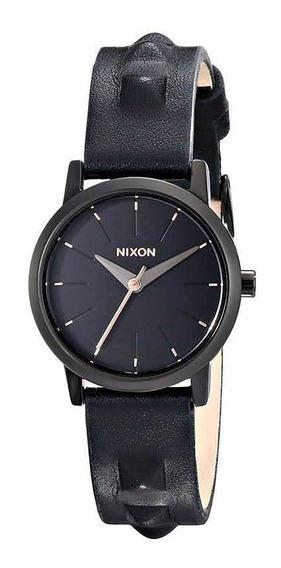 Relógio Feminino Nixon Kenzi Pulseira De Couro Original