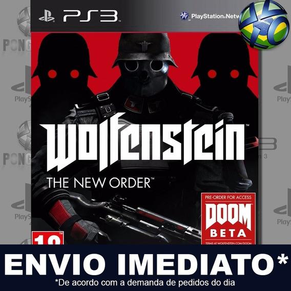 Wolfenstein The New Order Ps3 Psn Jogo Em Promoção Play 3