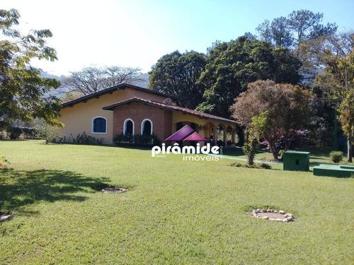 Imagem 1 de 14 de Chácara Com 7 Dormitórios À Venda, 11000 M² Por R$ 1.300.000,00 - Angola De Baixo - Jacareí/sp - Ch0067