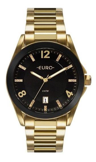 Relógio Euro Feminino Color Mix Shine Dourado Eu2315hm/4p