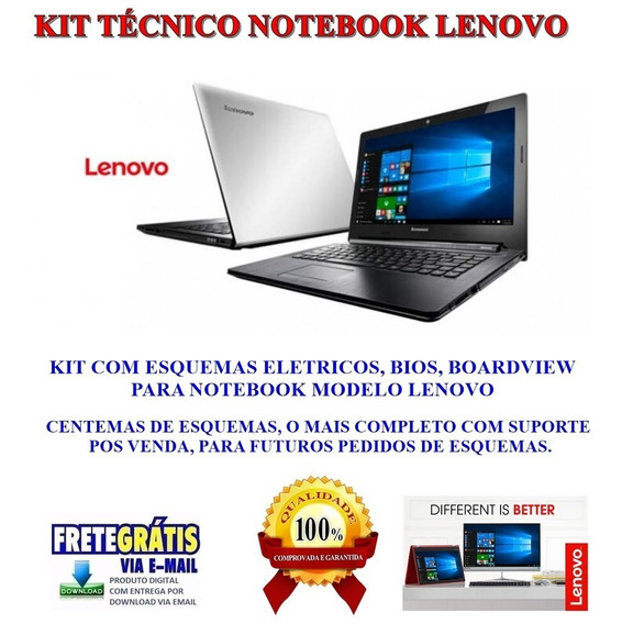 Kit Notebook Lenovo ,esquemas Eletricos, Bios E Boardview