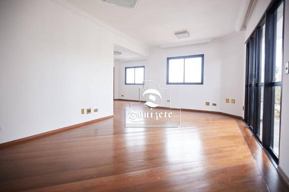 Apartamento Com 3 Dormitórios Para Alugar, 150 M² Por R$ 3.000,00/mês - Vila Bastos - Santo André/sp - Ap7654