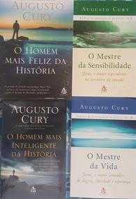 O Homem Mais Feliz Da História + 3 Livros De Augusto Cury