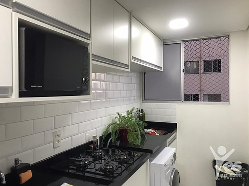 Ref.: 2577 - Apartamento Planejado Com 2 Dormitórios - Vila Homero Thon - 2577