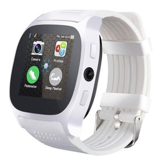 T8m Smartwatch Con Bluetooth, Alarma, Podómetro Ios Y Androi