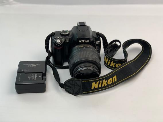 Camera Profissional Nikon D60 Com Lente - Não Liga