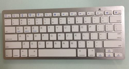 Teclado Bluetoot P/ iPad iPhone iMac Macbook Pc Tablet
