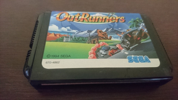 Outrunners Original Pra Mega Drive/ Sega Genesis