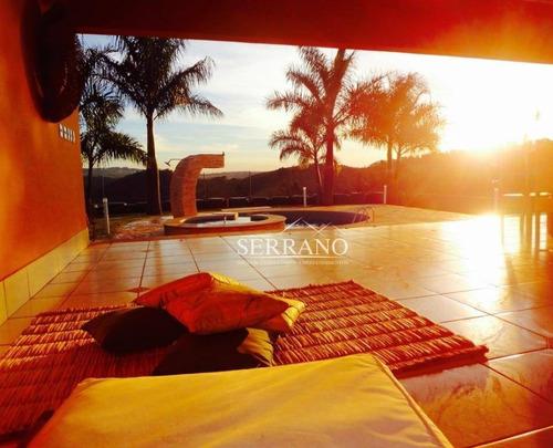Imagem 1 de 26 de Casa Com 4 Dormitórios À Venda, 500 M² Por R$ 1.480.000,00 - Condomínio Vila Hípica I - Vinhedo/sp - Ca0434