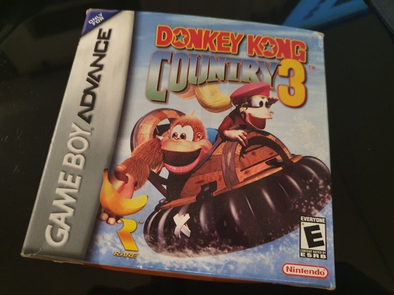 Donkey Kong Country 3 Completo Game Boy Advance Cartucho Gba