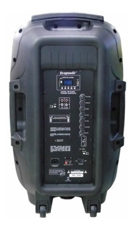 Caixa Ecopower Ep-s306 - Bluetooth - 15 Pol - 1300w