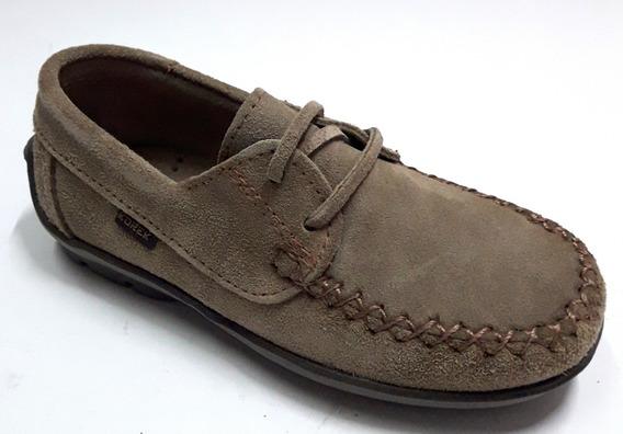 Zapatos Nauticos Niños Cordon Gamuza Korek 271 21/26