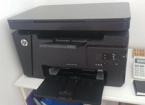 Impressora Laser Multifuncional Hp 125a Com Toner Novo.